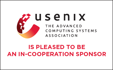USENIX is a LASER in-cooperation sponsor